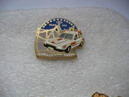 Pin's Ballard N°314, Doré à L'or Fin De La Police Du XIIIeme Arrondissement De PARIS (Place D'Italie) - Polizei