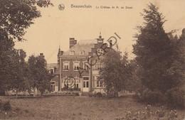 Postkaart/Carte Postale BEVEKOM/BEAUVECHAIN Le Chateau De M De Streel (C458) - Beauvechain