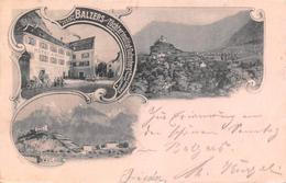 Balzers  Postkutsche  3 Bild - Liechtenstein