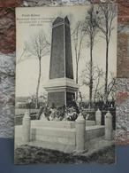 Cpa Pont-Rémy Monument érigé En L'honneur Des Soldats Tués à L'ennemi (1914-1918) - Francia