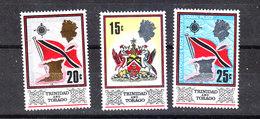 Trinidad &Tobago -1969.Stemma E Bandiera Della Serie Corrente. Coat Of Arms And Flag Of The Current Series. MNH - Sellos