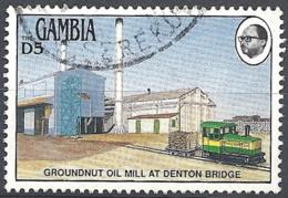 Gambia, 1983 Binlang Bolong, 5D # S.G. 508 - Michel 477 - Scott 479 USED - Gambia (1965-...)