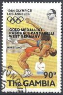 Gambia, 1984 Summer Olympics, 90b # S.G. 529 - Michel 502 - Scott 510 USED - Gambia (1965-...)
