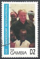 Gambia, 1995 S.O.S. Kinderdorf Iternational, 2D # S.G. 2097 - Michel 2185 - Scott 1668 USED - Gambia (1965-...)