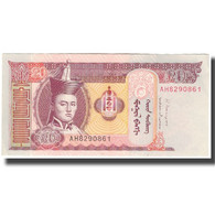 Billet, Mongolie, 20 Tugrik, 2013, SUP+ - Mongolie