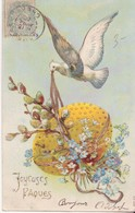 CP - Joyeuses Pâques - Pâques