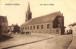 Rhode-St-Genèse - Vue Totale De L'Eglise (animée, Louise Wets, Marco Marcovici) - St-Genesius-Rode