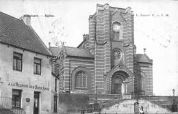 Hoeylaert Hoeilart - Eglise (animatie, Lagaert, A La Réunion Des Bons Amis, Griffe Groenendael) - Hoeilaart