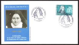 FRANCE - Centenaire Mort Sainte Therèse De Lisieux De L'enfant-Jésus De La Sainte Face - Christianisme