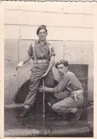 """Photo """"montage Surréalisme Trucage"""" Soldat Militaire Belge 7 X 10 - Other"""