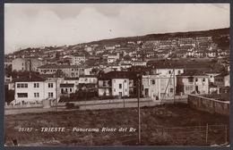 Italia  - TRIESTE, Panorama Rione Del Re  -  Foto Cartolina. - Trieste