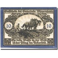 Billet, Autriche, Wippenham, 10 Heller, Agriculteur, 1920 SUP Mehl:FS 1247a - Autriche