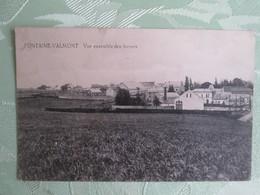 Fontaine Valmont . Vue D Ensemble Des Fermes . Cachet Militaire - Belgique