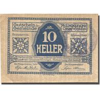 Billet, Autriche, Adlwang, 10 Heller, Village, 1920, 1920-12-31, SUP, Mehl:FS 5a - Autriche