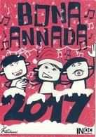 *CPM - Bona Annada 2017- Bonne Année En Occitan - Edition Institut D'Estudis Occitans-Limosin - New Year