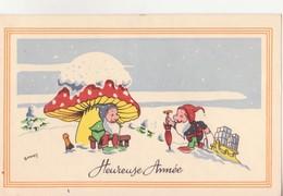 CP - HEUREUSE ANNEE - Nouvel An