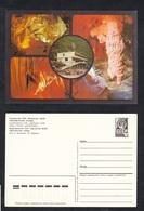 1986.USSR .Stamped Stationery .Georgian USSR. Abkhazian Autonomous Soviet Socialist Republic. New Athos Cave. - Minerals