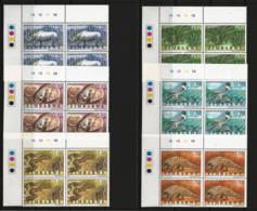 Zimbabwe 1997 Endangered Species Meeting/Animals Control/Blocks, MNH - Zimbabwe (1980-...)