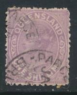 QUEENSLAND, 1882 1/- Lilac, SG172, Cat £8 - Gebruikt