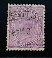 QUEENSLAND, 1882 1/- Deep Mauve, SG173 - Gebruikt