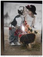 Enfants De SYLVIA MURRAY : Le Bisou  / Brouette Et Fleurs !! - Non Classés