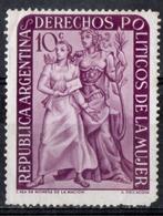 Argentina 1951 - Diritti Politici Delle Donne Women's Political Rights ** MNH - Stamps