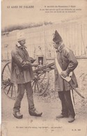 LE GARS DE FALAISE. ARRETE DE MONSSEU 1° MAIR. AD. CIRCULEE 1908 A ROSARIO. ARGENTINE - BLEUP - Francia