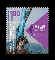 Bosnia And Herzegovina (Serbian) 2019 Mih. 790 Medicine. World IBD Day MNH ** - Bosnia And Herzegovina