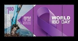 Bosnia And Herzegovina (Serbian) 2019 Mih. 790 Medicine. World IBD Day (with Label) MNH ** - Bosnia And Herzegovina