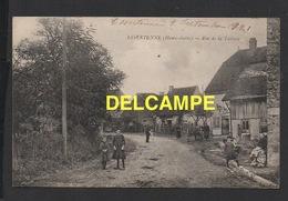 DD / 70 HAUTE SAÔNE / ESSERTENNE / POPULATION POSANT RUE DE LA TUILERIE / ANIMÉE / 1921 - Other Municipalities
