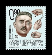 Bosnia And Herzegovina (Serbian) 2019 Mih. 791 Medicine. Surgeon Risto Jeremic MNH ** - Bosnia And Herzegovina