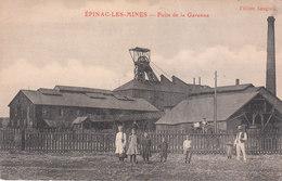 CPA EPINAC-LES-MINES (71) PUITS DE LA GARENNE - ANIMEE - Autres Communes