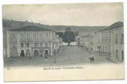 RARE CPA CACHOEIRA, RUA 25 DE JUNHO, BAHIA, BRESIL - Brazil