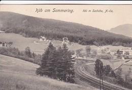AK Küb Am Semmering - 1912 (41292) - Semmering