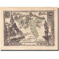 Billet, Autriche, Ybbs, 20 Heller, Village, 1920, 1920-12-31, SPL, Mehl:FS 1258a - Autriche