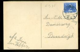 BRIEFKAART Uit 1948 Van HATTEM Stempel MOLENAARSGRAAF Naar BRANDWIJK  (11.557j) - Periode 1891-1948 (Wilhelmina)