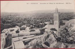 Algerie Algeria TLEMCEN - Ensemble Du Village De Sidi-Halaoui Mosquee Mosque Moskee Minaret - Algérie