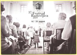 Slovenia - Slovenie - Slovenjia - 2019 - 37. Festival Radovljica 10.-25. Avgust - Musica, Music Festival - Not Sent - Slovenia