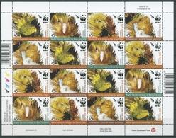 Neuseeland 2005 WWF Naturschutz Kakapo 2276/79 ZD-Bogen Postfrisch (C27565) - Blocchi & Foglietti