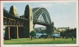 Australia Australien Sydney Harbour Bridge - From The North Shore Single Span Bridge - Sydney