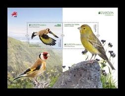 Portugal (Madeira) 2019 Mih. 391/92 (Bl.71) Europa. National Birds. Fauna. Atlantic Canary And European Goldfinch MNH ** - Madeira