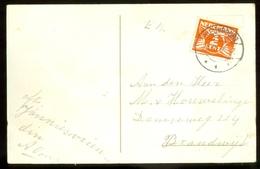 BRIEFKAART Uit 1916 Van NIEUWPOORT Naar BRANDWIJK  (11.557m) - Periode 1891-1948 (Wilhelmina)