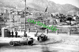 MONACO - 1° GRAND PRIX 14 AVRIL 1929 - 2 PHOTOS RECTO-VERSO SCANNEES - - Grand Prix / F1