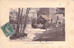 91 - JARCY : Inondation Au Moulin (23 Janvier 1910 ) - CPA Avec Cadre - Essonne - France