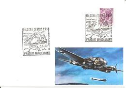 ITALIA - 1972 BOLOGNA 3° Raduno Aviatori Aerosiluranti (aerosilurante In Azione, Nave) - Militaria