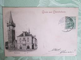 Gruss Aus Obernai . Dos 1900 - Obernai