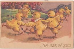 CP - JOYEUSES PAQUES - Pâques