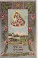AK 0243  Mariahilfberg In Gutenstein - Prägekarte Um 1915 - Gutenstein