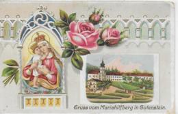 AK 0243  Mariahilfberg In Gutenstein - Prägekarte Um 1917 - Gutenstein