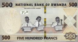 RWANDA P. NEW  500  F 2019 UNC - Rwanda